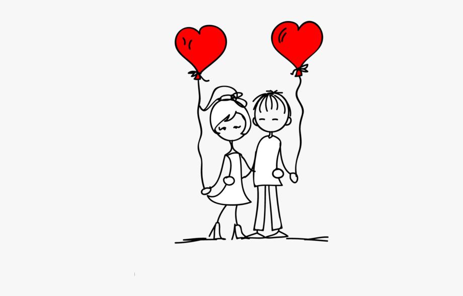 Namorados clipart clip art library stock Anniversary Drawing Valentine\'s Day - Bonequinhos De ... clip art library stock