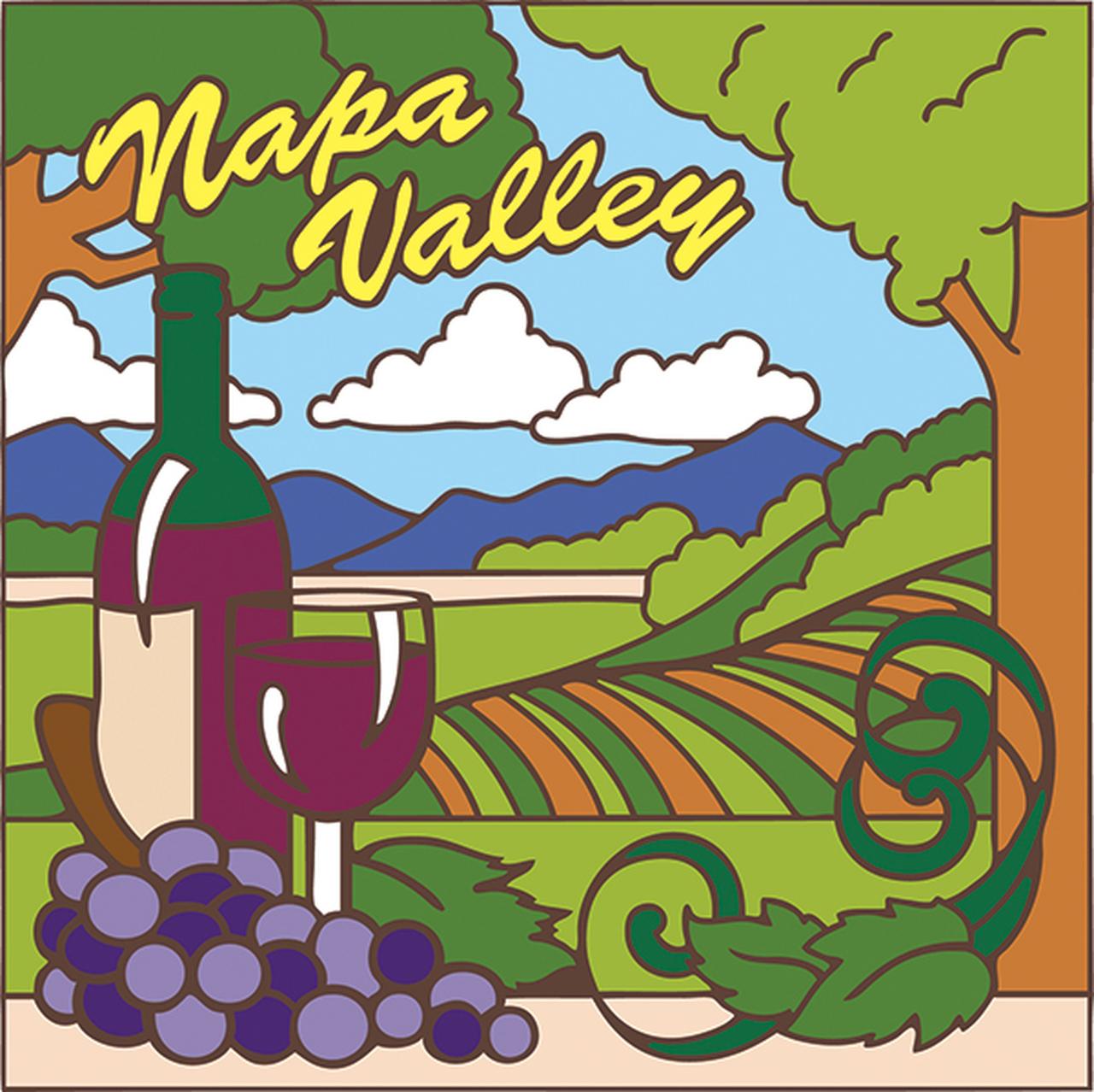 Napa valley clipart