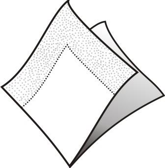 White napkin 33 cm, 2-layers :: JE Plast s.r.o. picture freeuse