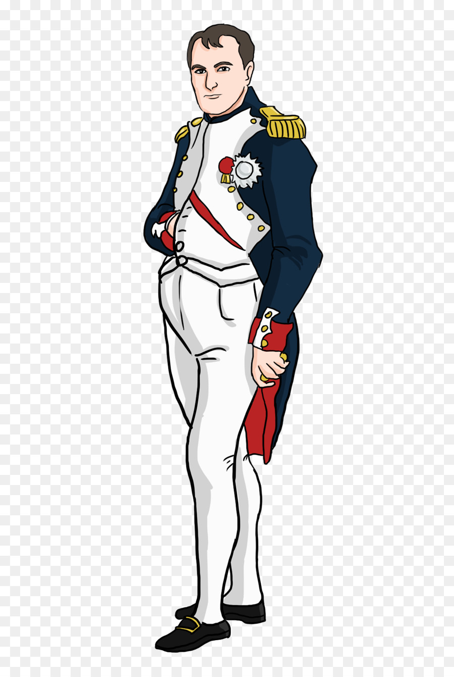 Napoleon clipart clip freeuse library Man Cartoon png download - 500*1336 - Free Transparent ... clip freeuse library