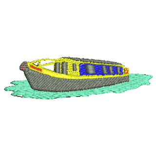 Narrowboat clipart graphic freeuse library Clipart #89282 - Clipartimage.com graphic freeuse library