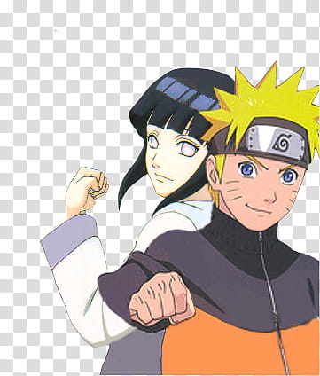 Naruto and hinata clipart png black and white Hinata y naruto, naruto_and_hinata_by_watashi_mina-dbwt transparent ... png black and white