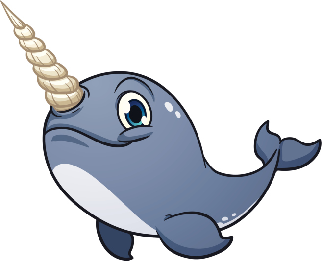 Narwal clipart svg free library Free Baby Narwhal Cliparts, Download Free Clip Art, Free Clip Art on ... svg free library