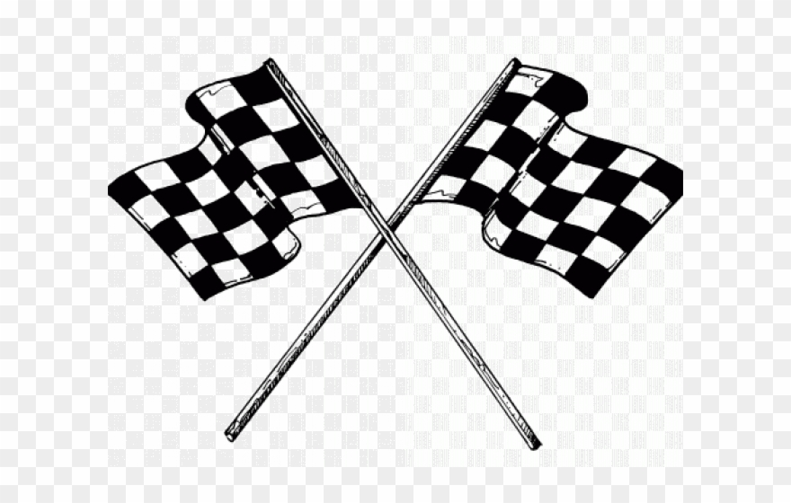 Nascar Clipart Checkered Flag - Car Racing Flag - Png ... png freeuse library