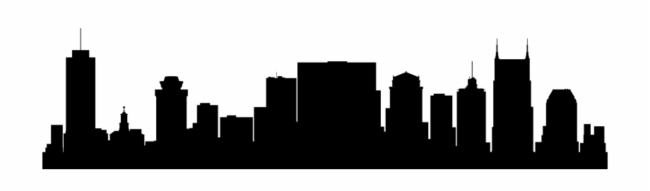 Nashville clipart banner royalty free library Nashville Skyline Silhouette Png - Nashville Skyline Black ... banner royalty free library