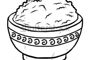 Nasi clipart png black and white download Nasi clipart black and white 4 » Clipart Portal png black and white download