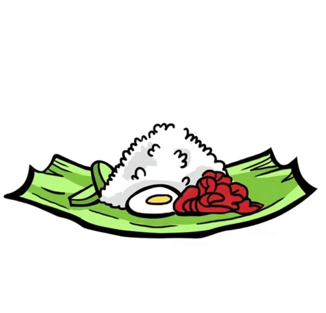 Nasi clipart graphic transparent library Nasi lemak clipart 8 » Clipart Portal graphic transparent library