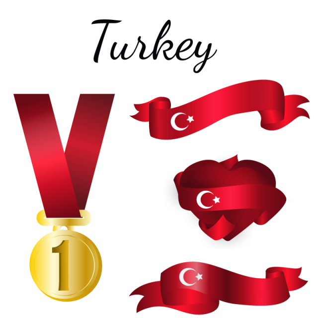 Turkey Flag, Turkey, Flag, Country PNG and Vector for Free Download clipart library stock