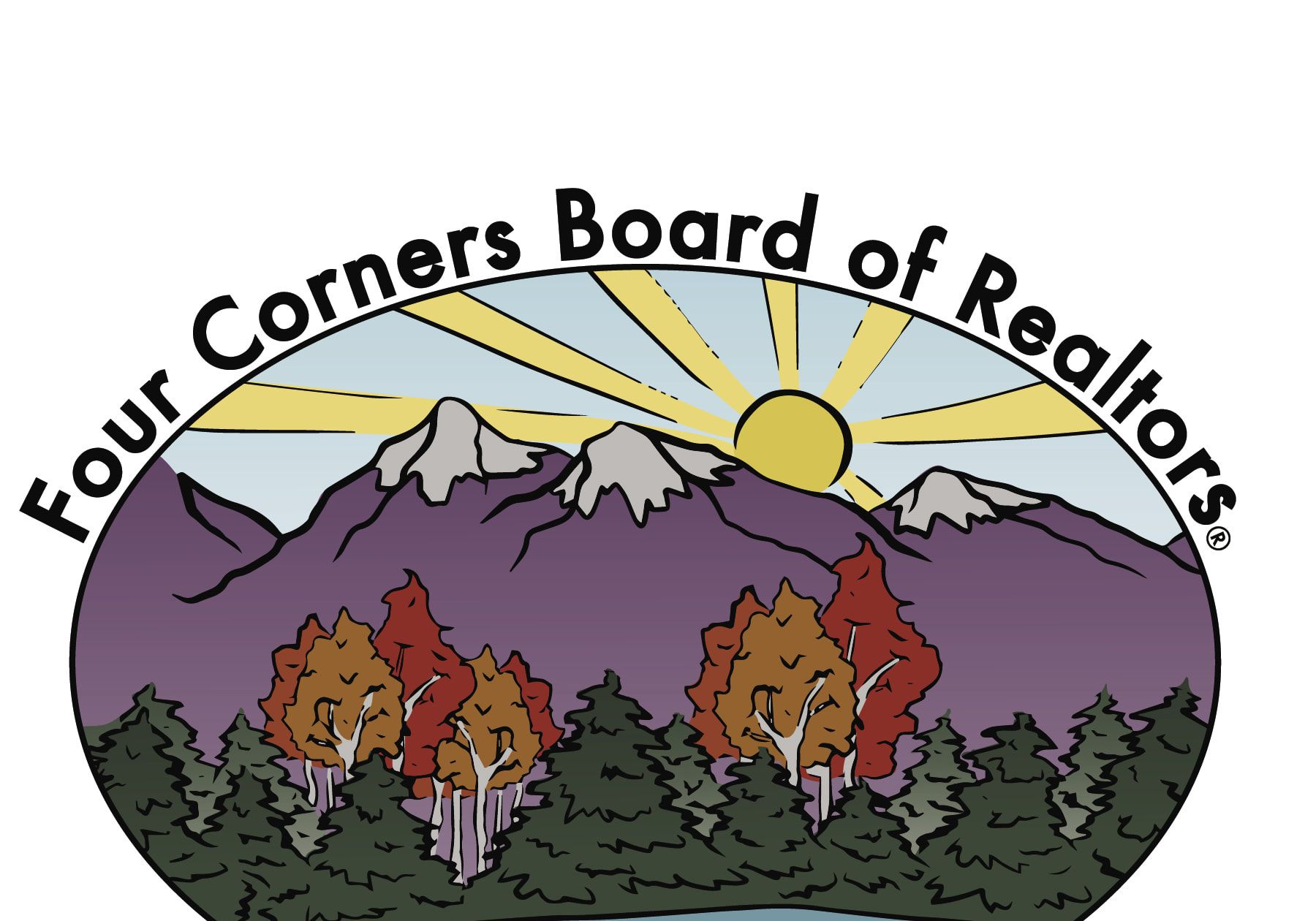 National association of realtors clipart png royalty free download Four Corners Board of Realtors png royalty free download