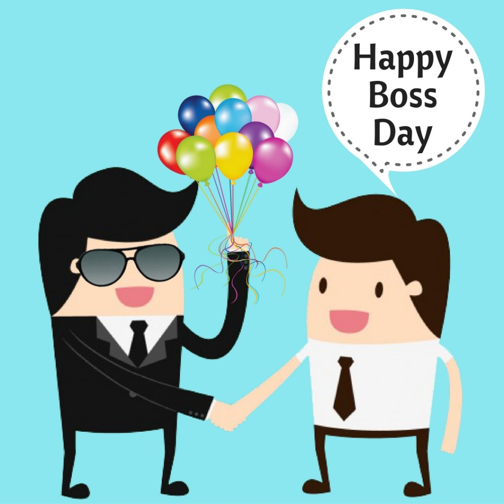 National boss day clipart svg black and white 60 Most Beautiful National Boss Day 2017 Greeting Picture Ideas svg black and white