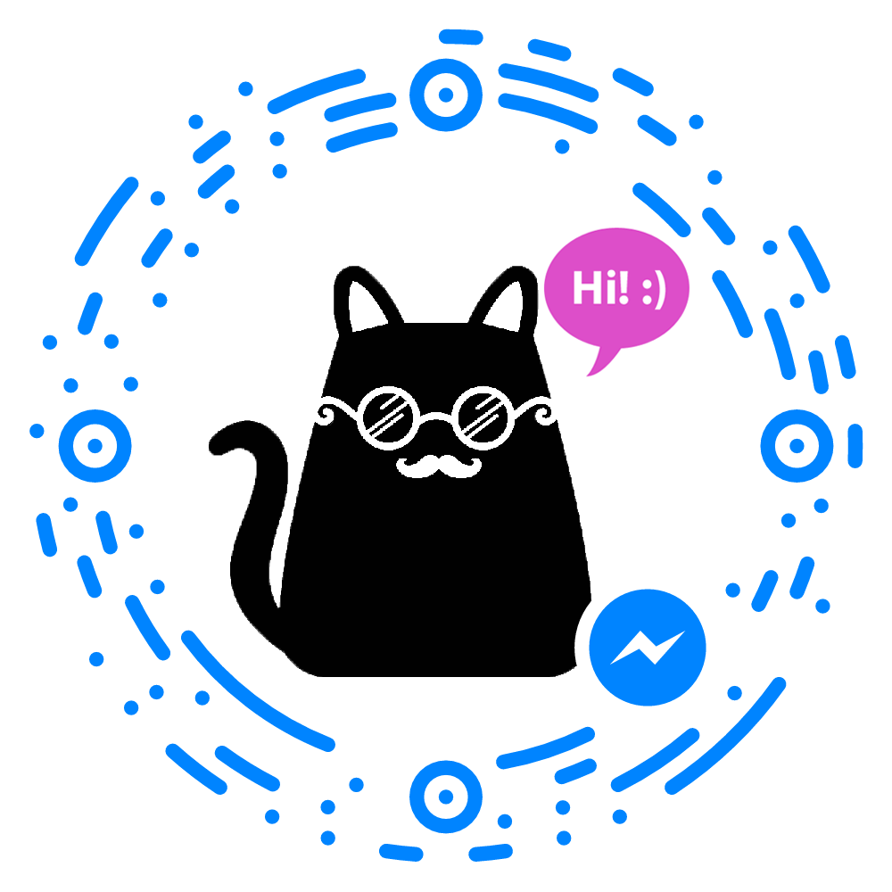 National cat day clipart png library Launch of Mica, the Hipster Cat Bot – Chatbots Magazine png library