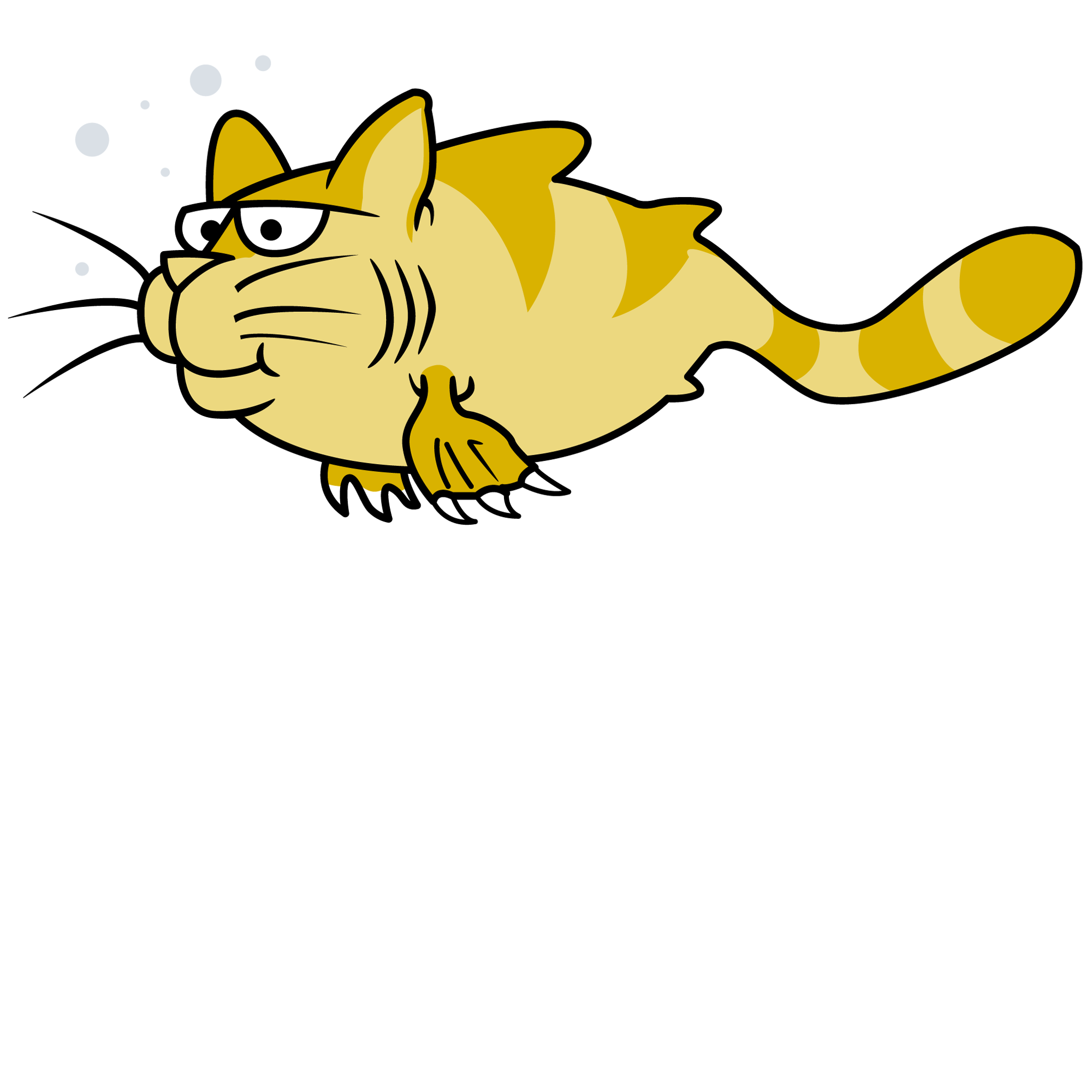 National cat day clipart free library National Catfish Day, June 25. (Real catfish are just too darn icky ... free library