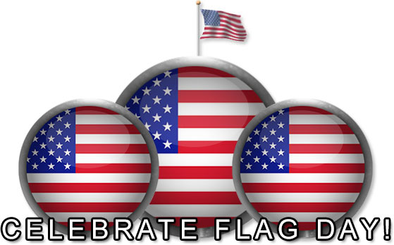 Free Flag Day Clipart clip library stock