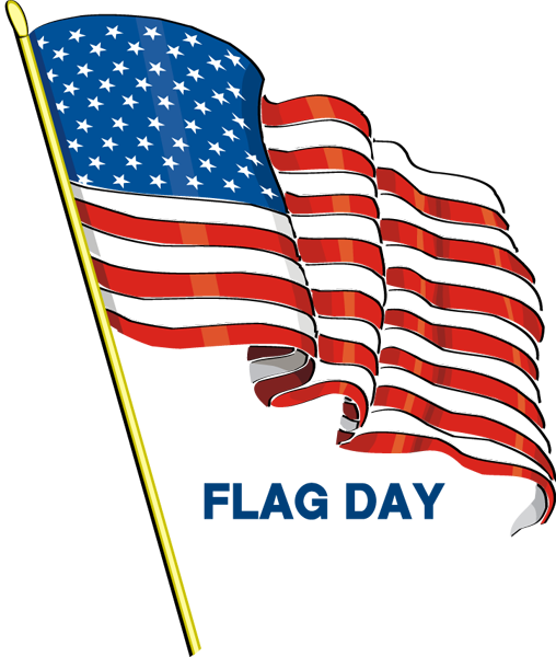 Flag day is on Friday. Don\'t forget to put out your flags ... jpg black and white