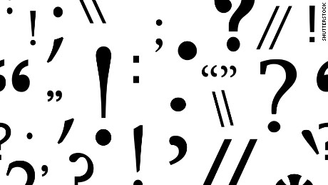 National punctuation day clipart vector royalty free download Today is National Punctuation Day - CNN vector royalty free download