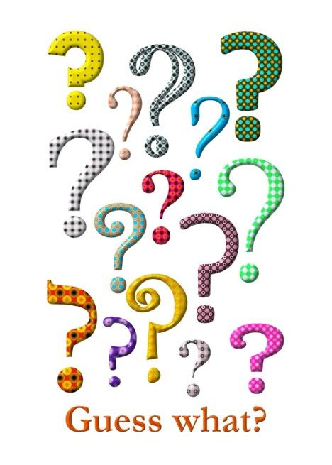 National punctuation day clipart clipart freeuse library National Punctuation Day, colorful question marks card ... clipart freeuse library