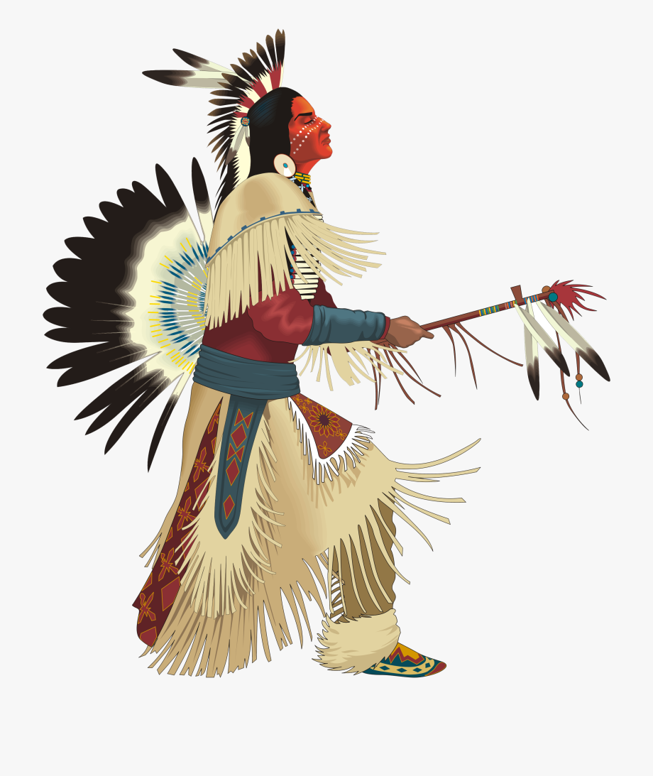 Native american chief clipart clip black and white American Indian Clipart - Native American Indian Png #380733 ... clip black and white
