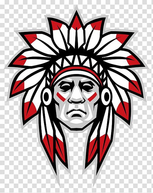 Native american chief clipart vector library American Horse Native Americans in the United States Tribal ... vector library