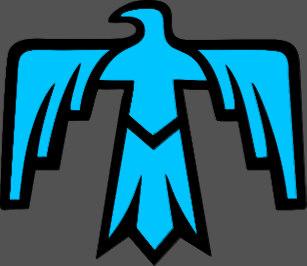 Native american thunderbird clipart banner black and white Thunderbird Symbol Native American Gifts on Zazzle banner black and white