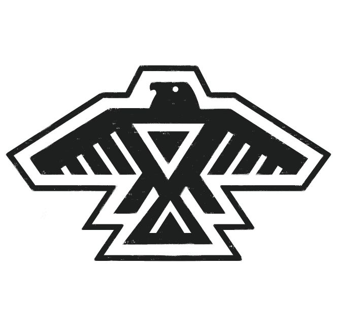 Native american thunderbird clipart graphic black and white Free Thunderbird Outline Cliparts, Download Free Clip Art ... graphic black and white