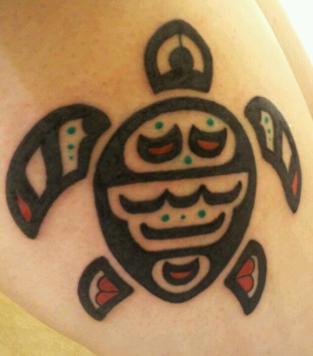 Native american turtle tattoo clipart banner transparent download Native American turtle tattoo | Cool! | Tattoos, Symbolic ... banner transparent download