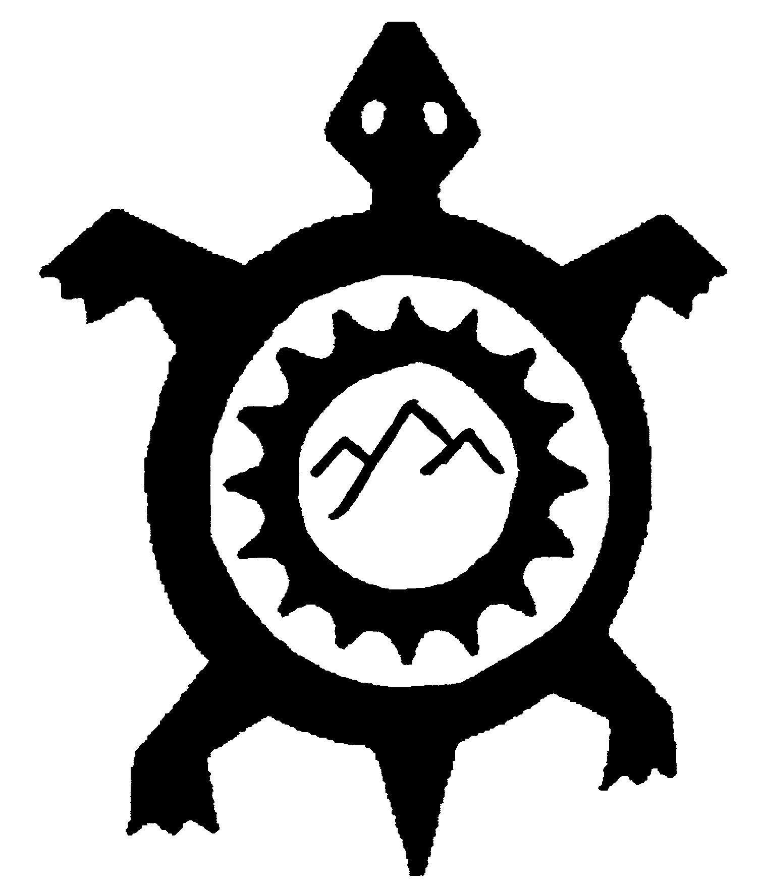 Native american turtle tattoo clipart picture freeuse stock Mountain Turtle Logo | turtle | American symbols, Native ... picture freeuse stock