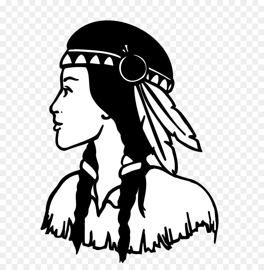 Native american woman clipart svg royalty free stock Native Americans in the United States Woman Clip art - only ... svg royalty free stock