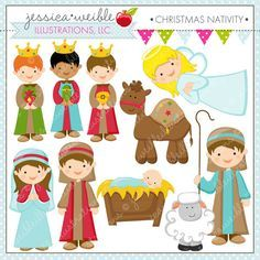 Nativity figures clipart svg Nativity scene characters clipart 6 » Clipart Portal svg