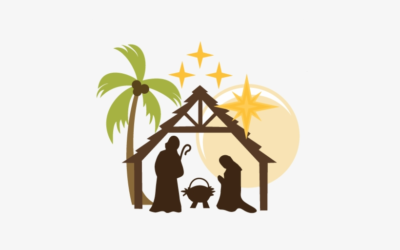 Nativity pictures clipart graphic stock Clipart Black And White Download Christmas Nativity ... graphic stock