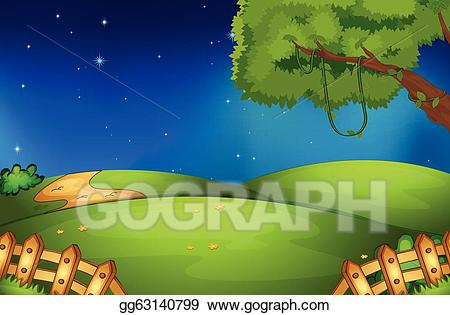 Natural scene clipart clipart free download Vector Art - Nature scene. Clipart Drawing gg63140799 - GoGraph clipart free download