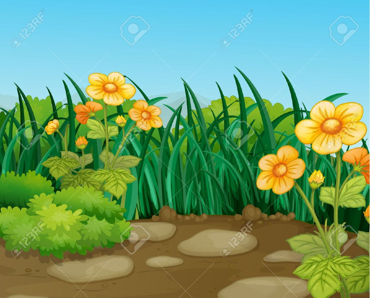 Natural scene clipart banner Beautiful clipart of nature scenes - Clip Art Library banner