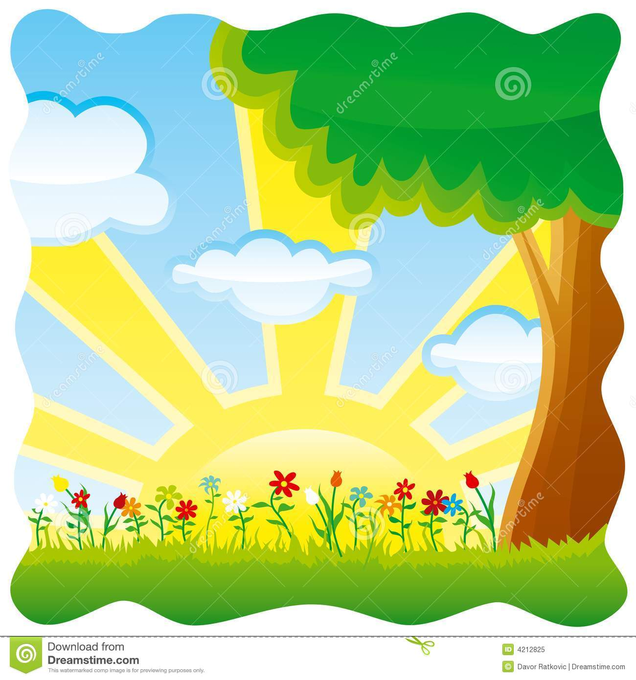 Nature cliparts banner free download Clip art nature scenes - ClipartFest banner free download