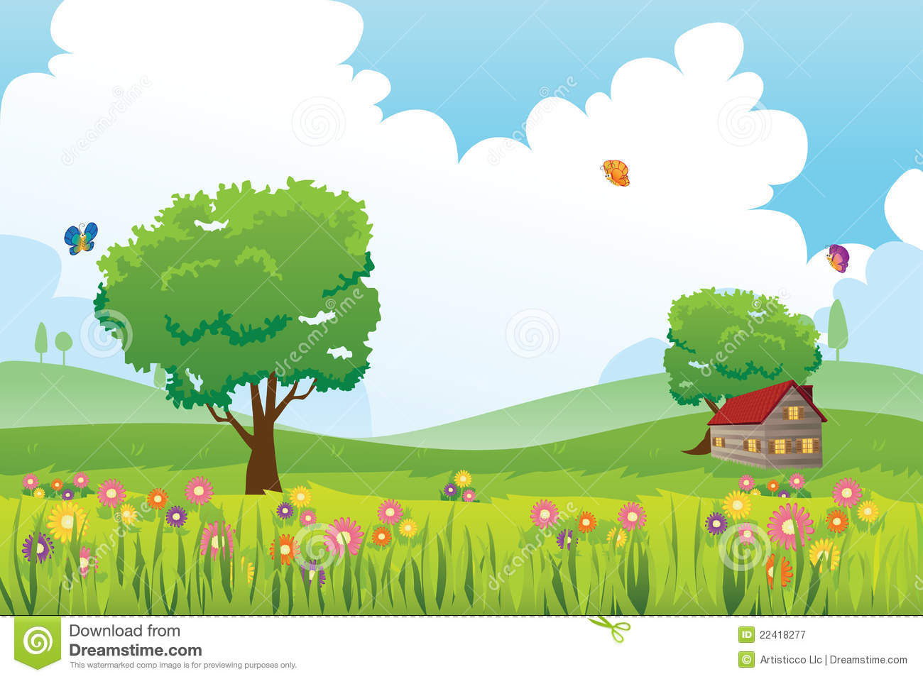 Nature cliparts vector free Nature cliparts vector free