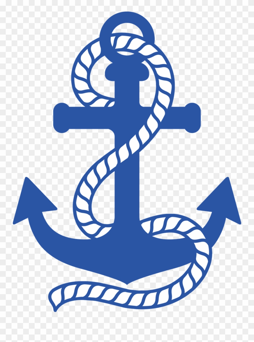 Nautical anchor clipart picture free download Graphic Transparent Stock Minus Say Hello Cameo - Nautical Anchor ... picture free download