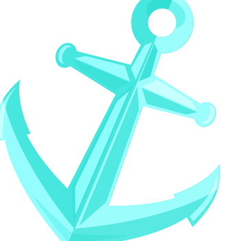 Nautical anchor clipart jpg library library Nautical Anchors in Rainbow Colors Clip Art Set for Commercial Use jpg library library
