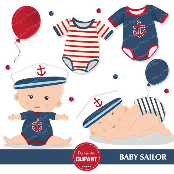 Nautical baby shower clipart graphic royalty free stock Nautical baby shower clipart, Baby sailor, Sailing clipart, Nautical ... graphic royalty free stock