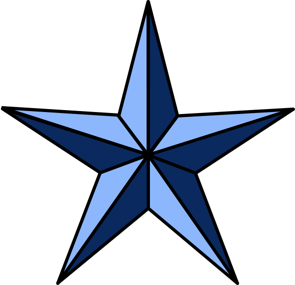 Notical star clipart graphic royalty free Wla Nautical Star clip art - vector clip art online, royalty free ... graphic royalty free