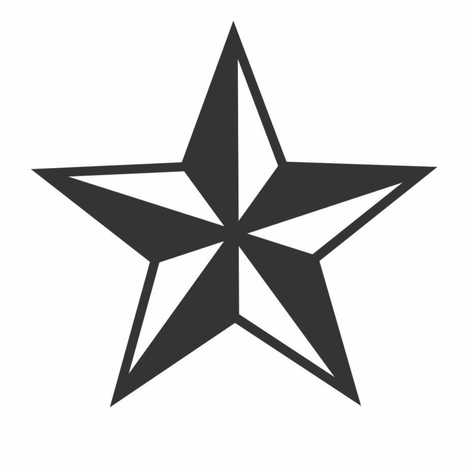 Nautical start clipart transparent black graphic royalty free stock Nautical Star Logo Vector - Nautical Star Transparent ... graphic royalty free stock