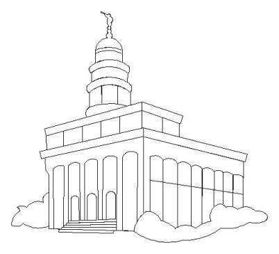 Nauvoo temple clipart picture free stock Nauvoo Illinois Temple picture free stock