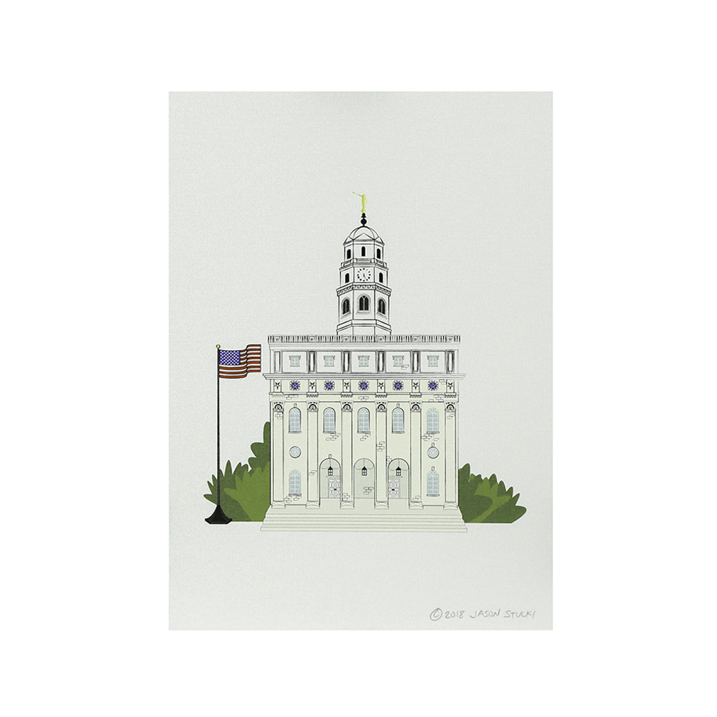 Nauvoo temple clipart