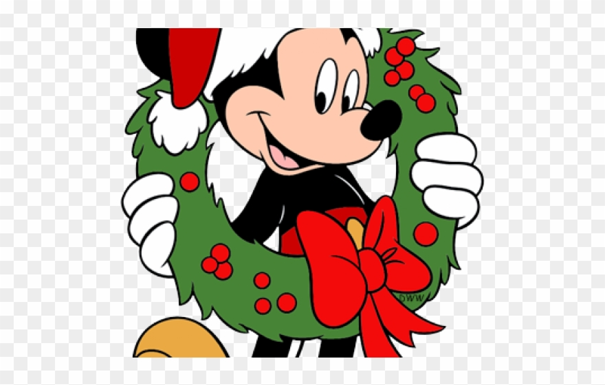 Navidad clipart image free stock Mickey Caricaturas De Navidad Clipart - Full Size Clipart (#325878 ... image free stock