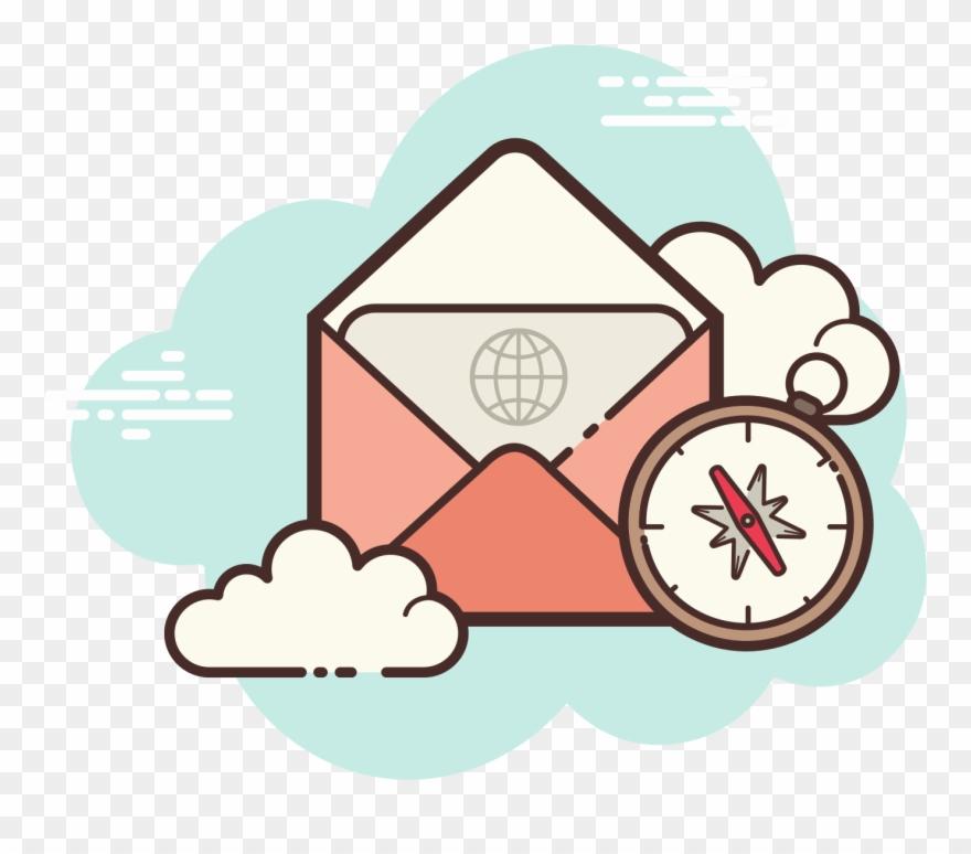 Navigators clipart jpg free Open Envelope Navigator Icon - Icon Clipart (#2216168) - PinClipart jpg free