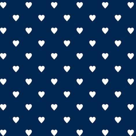 Navy blue and kelly green heart clipart image transparent download White Hearts on Navy Blue wallpaper - mtothefifthpower - Spoonflower image transparent download
