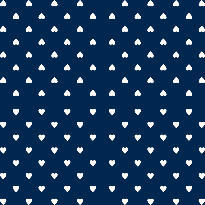 Navy blue and kelly green heart clipart svg black and white stock White Hearts on Navy Blue wallpaper - mtothefifthpower - Spoonflower svg black and white stock
