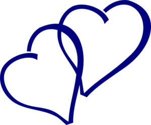 Navy blue & coral wedding hearts clipart jpg free Blue Heart Clipart | Free download best Blue Heart Clipart on ... jpg free