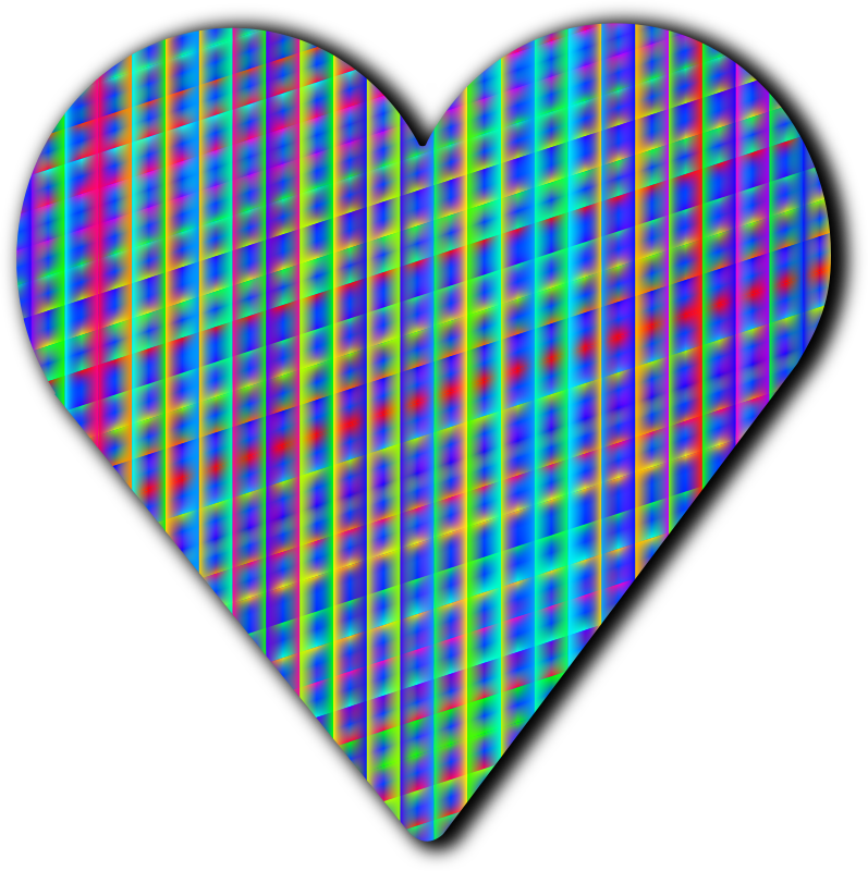 Navy blue heart clipart banner Clipart - Patterned heart 6 banner