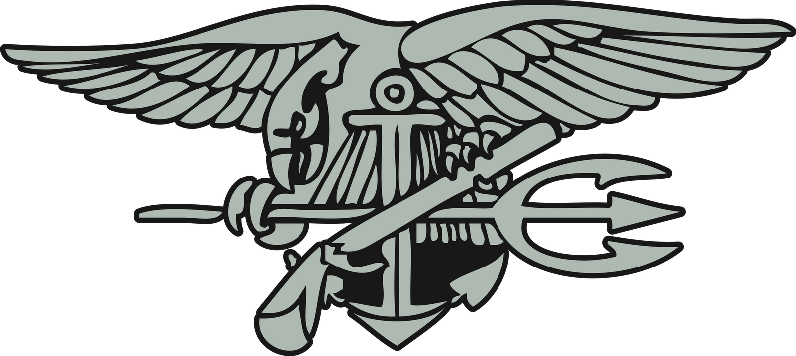 Navy cross clipart png royalty free library 28+ Collection of Navy Seal Emblem Drawing | High quality, free ... png royalty free library