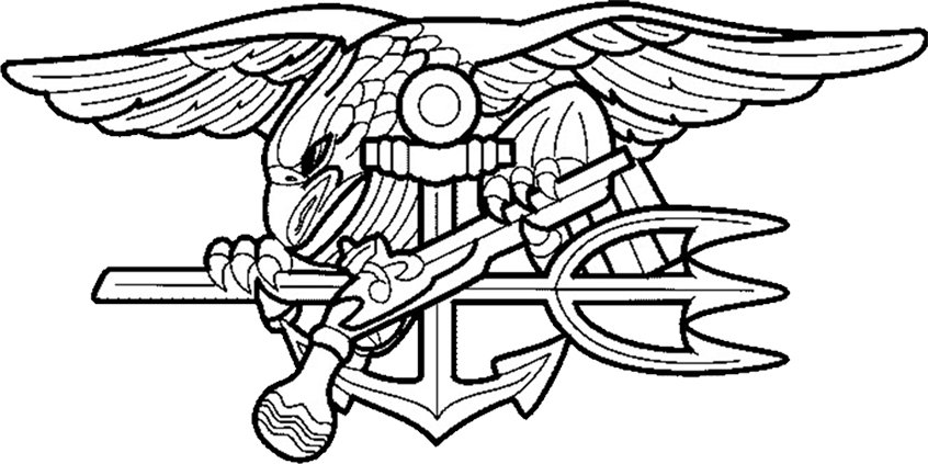 Navy cross clipart svg library stock 28+ Collection of Navy Seal Emblem Drawing | High quality, free ... svg library stock