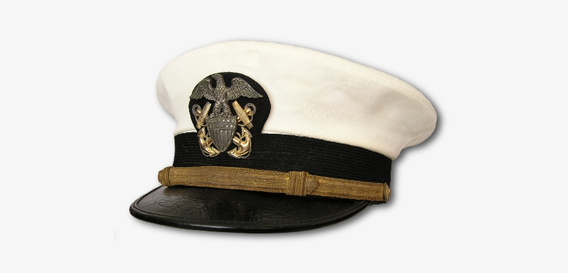 Navy officer cap device clipart no background png library Navy Officer\'s Service Cap With White Cover - Commander In Chief Hat ... png library