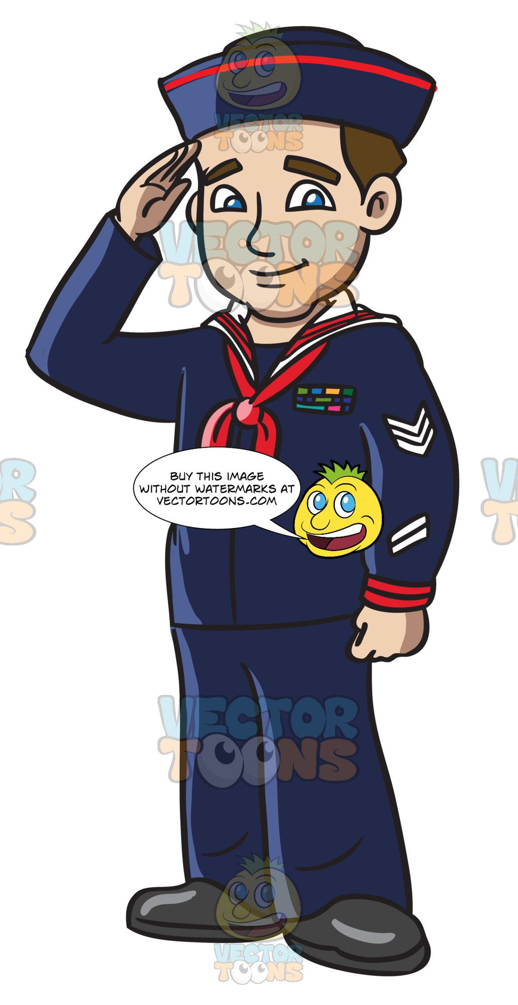 Navy sailor clipart clip art royalty free A Navy Man In His Blue Sailor Uniform clip art royalty free